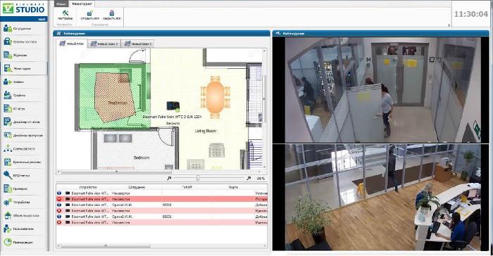 Интеграция систем видеонаблюдения TRASSIR и Biosmart