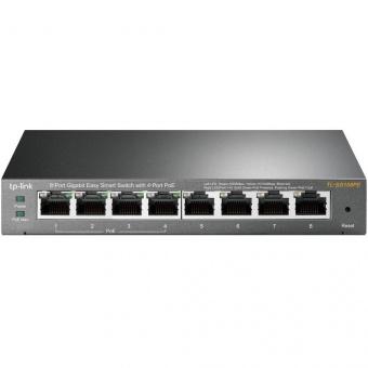 TP-Link TL-SG108PE: управляемый гигабитный 8-портовый Easy Smart PoE-коммутатор на 4 PoE-порта