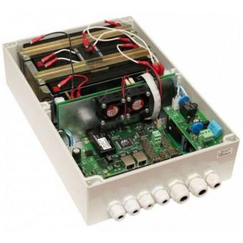 TFortis PSW-1G4F-UPS: управляемый уличный 4-портовый РоЕ-коммутатор с SFP-слотом, встроенным UPS