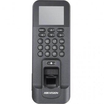 Терминал контроля доступа Hikvision DS-K1T803EF с 2 считывателями: биометрическим, EM-Marine