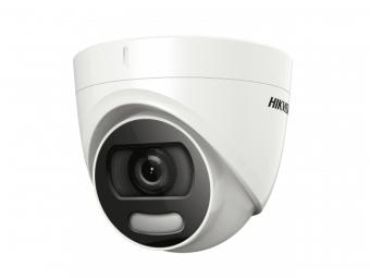 Hikvision DS-2CE72DFT-F28 (2.8 мм): уличная 2 Мп аналоговая камера с поддержкой AHD, HD-CVI, HD-TVI, подсветкой 20 м