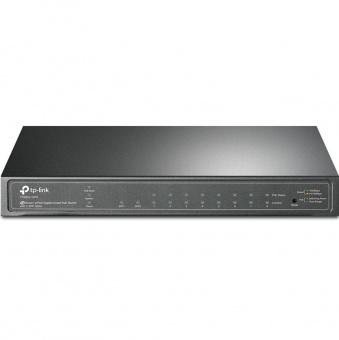 TP-Link T1500G-10PS: управляемый PoE-коммутатор Gigabit Ethernet с 8 PoE-портами, бюджетом 30 Вт на порт при общем бюджете 53 Вт