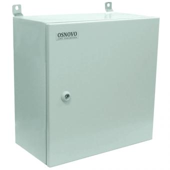 Osnovo OS-44TB1: уличная станция для наружной установки оборудования, монтажный шкаф с оптическим кроссом, резервным питанием, термостабилизацией