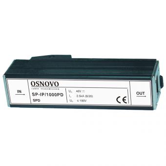 Osnovo SP-IP/1000PD: устройство грозозащиты для гигабитных линий с поддержкой технологии PoE и оборудования для систем видеонаблюдения