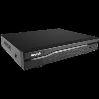 TRASSIR NVR-1104 V2: сетевой видеорегистратор на 4 IP-камеры с TRASSIR OS, 1 SATA, лицензиями на подключение камер