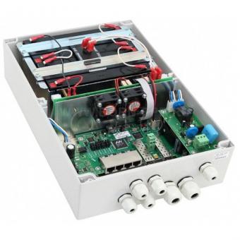 TFortis PSW-2G4F-UPS: управляемый уличный 4-портовый РоЕ-коммутатор с двумя SFP-слотами, встроенным UPS