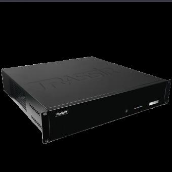 64-канальный стоечный сетевой видеорегистратор TRASSIR QuattroStation 2U на TRASSIR OS
