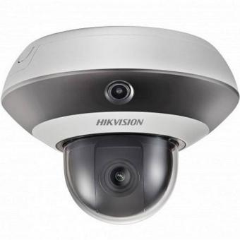 Hikvision DS-2PT3122IZ-DE3 + ПО TRASSIR в подарок: IP-камера серии PanoVu с PTZ-модулем и ИК-подсветкой