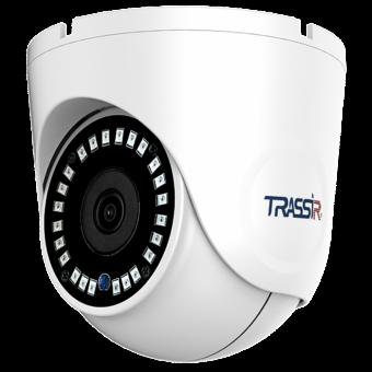 TRASSIR TR-D8221WDIR3 (3.6 мм): уличная 2 Мп IP-камера с ИК-подсветкой 30 м, микрофоном, объективом 3.6 мм