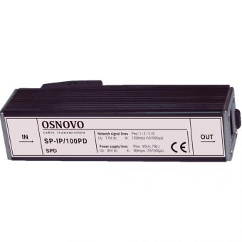 Osnovo SP-IP/100PD: устройство грозозащиты линий Ethernet и PoE