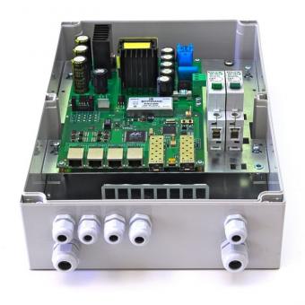 TFortis PSW-2G+: управляемый уличный 4-портовый РоЕ-коммутатор с двумя SFP-слотами, поддержкой РоЕ+