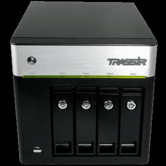 TRASSIR DuoStation AF 32 + ПО TRASSIR в подарок! Сетевой видеорегистратор под управлением TRASSIR OS (Linux) для IP-видеокамер ActiveCam, HikVision, HiWatch, Wisenet Samsung
